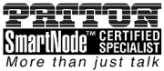Patton SmartNode Certified Specialist